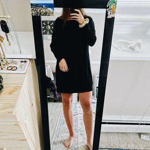 ATHLETA BLACK JERSEY DRESS